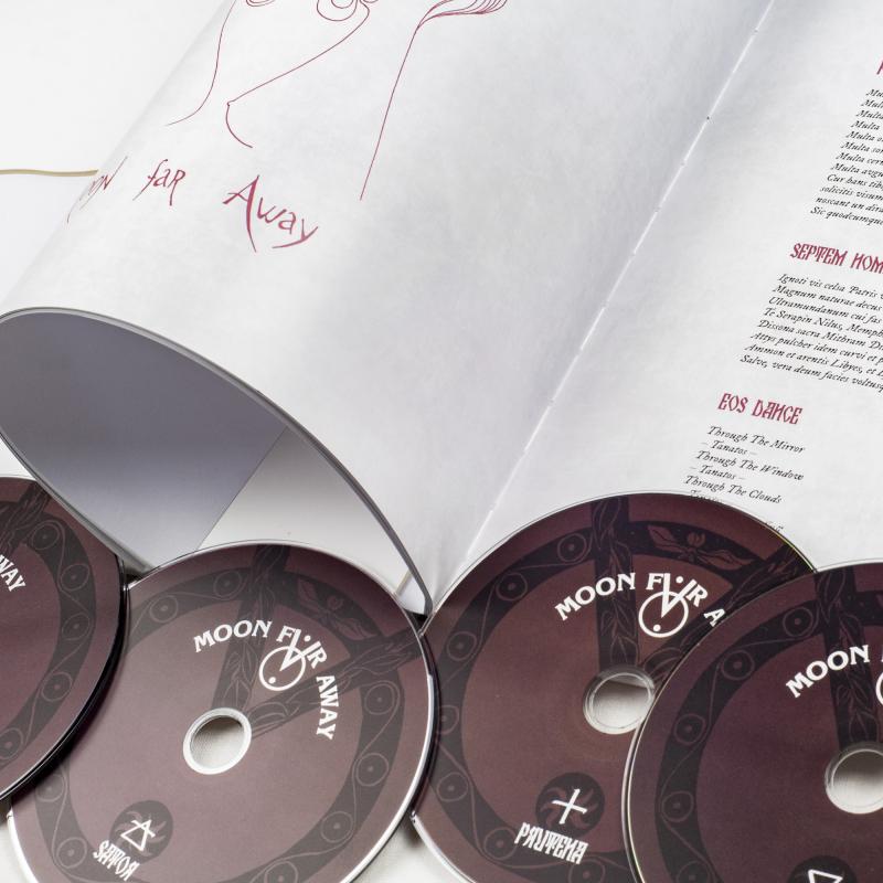 Moon Far Away - Zhito Zhala: The Early Harvest 1997-2010 Artbook 5-CD