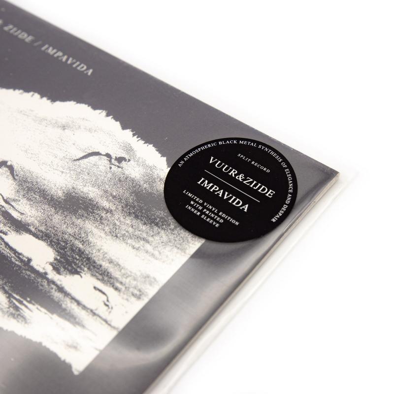 Vuur & Zijde - Split with Impavida Vinyl LP  |  Black