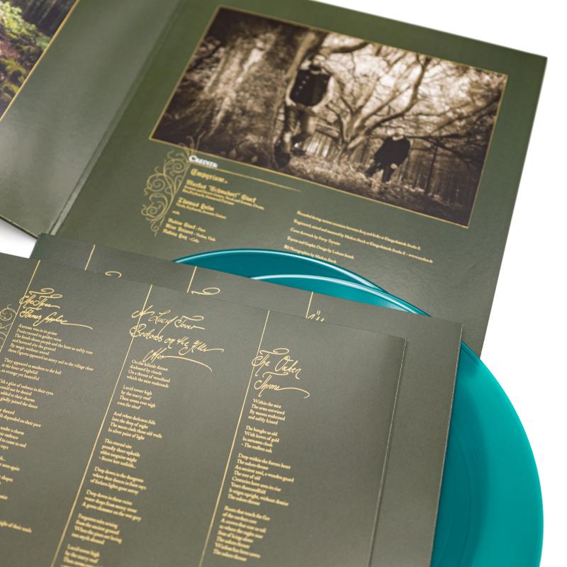 Empyrium - Über den Sternen Vinyl 2-LP Gatefold     Green Transparent